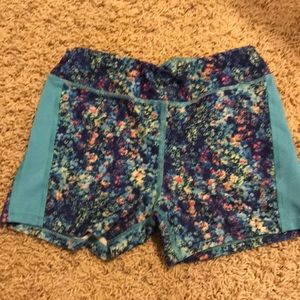 Girls Reebok compression shorts